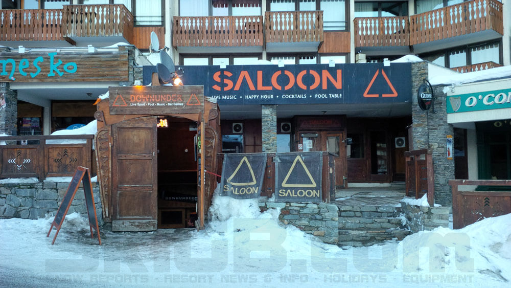Val Thorens Saloon Bar and Downunder