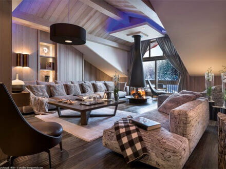 Photo of a very luxurious ski chalet, 5 stars all the way here!