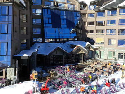 Photo of a ski hotel