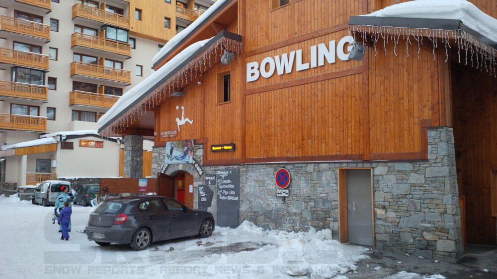 Image of the Bowling Alley in Val Thorens