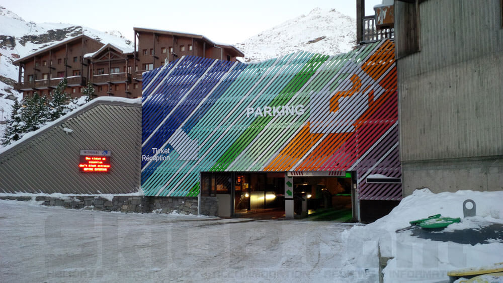 Image of P1 Car Parking in Val Thorens