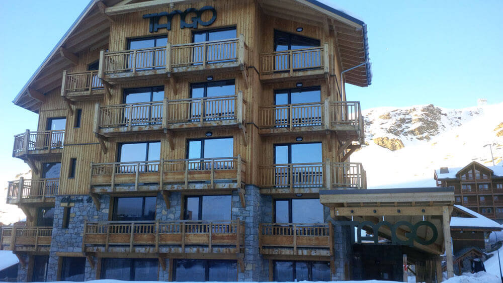 Image of the Tango bar in Val Thorens