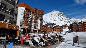 Val Thorens -  Middle of Resort