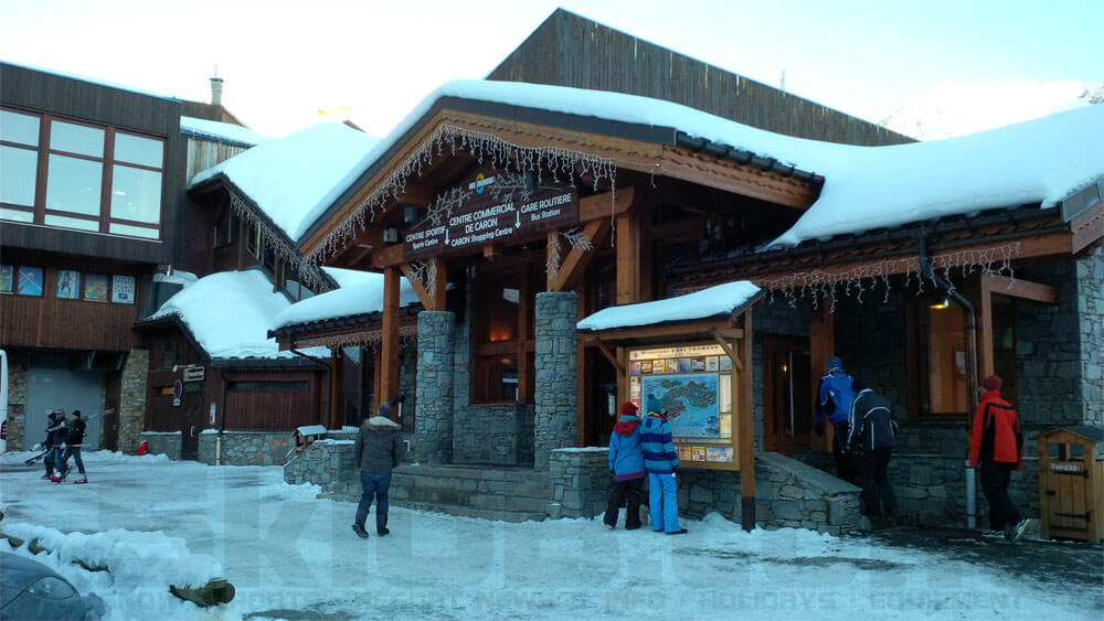 Image of the Bus Station in Val Thorens