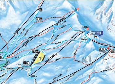 New Ski area in Val Thorens