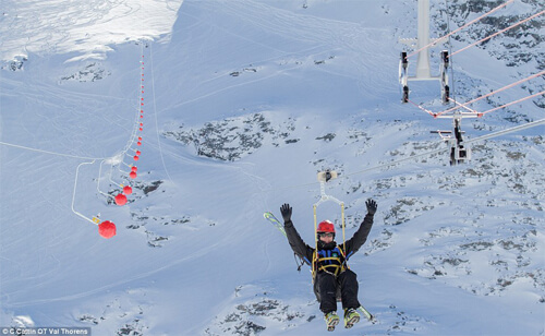 Image of Val Thorens Zip Wire
