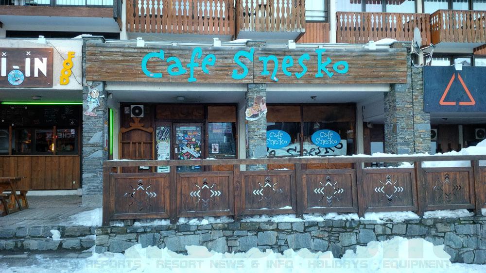 Val Thorens Cafe Snesko