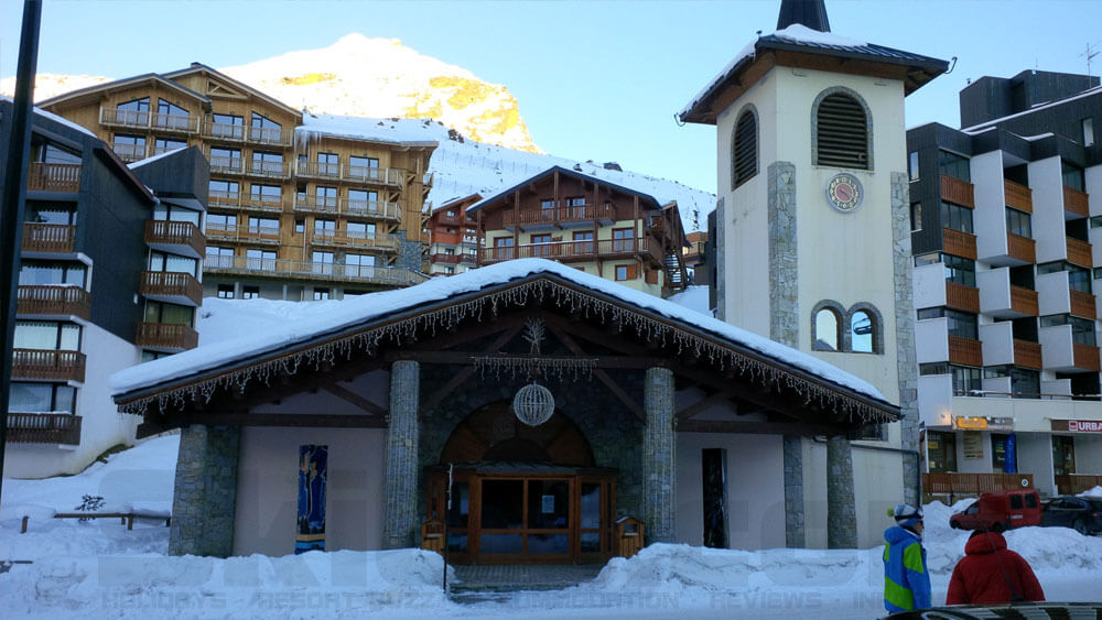 Val Thorens Church