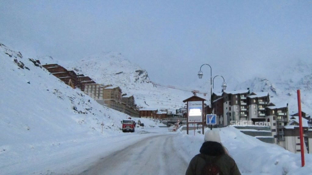 Val Thorens Entrance to Resort