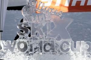 Val Thorens Ski Cross Cup Ice Logo